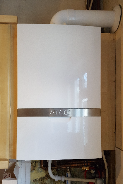 Boiler installation in Carshalton