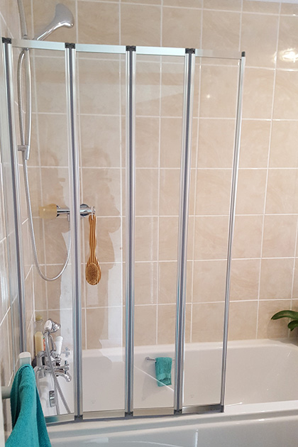 Shower to bath conversion in Epsom