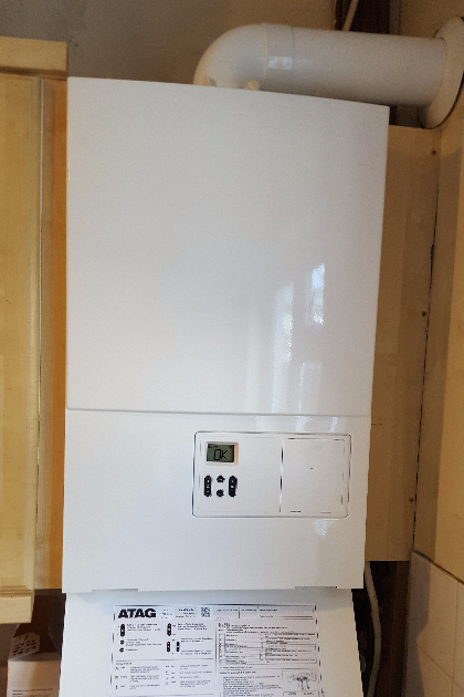 New boiler in Carshalton